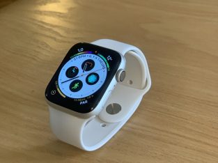 Apple Watch Serie 4 GPS – Aluminium Argent