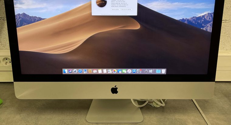 iMac 27″ 5K fin 2015 i7 4GHz 16Go RAM 3To Fusion