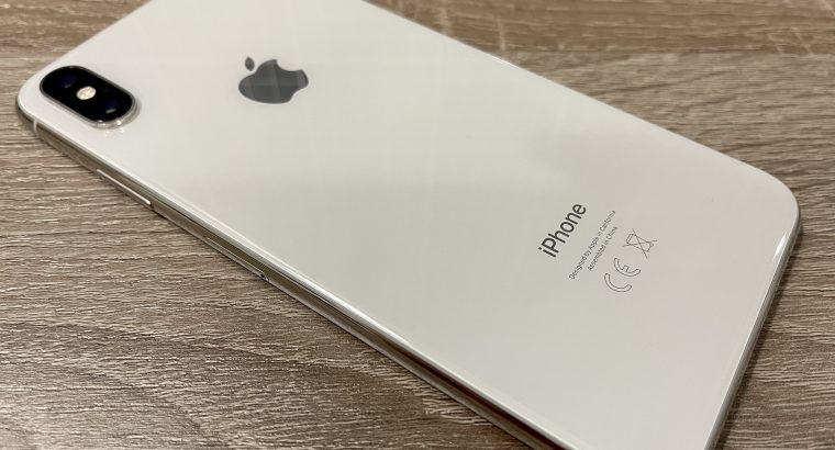 iPhone Xs Max Silver 256Go