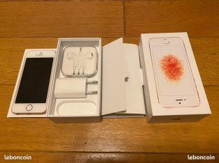 IPhone SE 64 Go gold rose en parfait état
