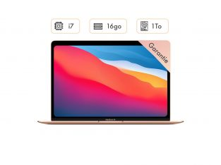 MacBook Air 2020 – Or – i7 – 1To – 16 GoRam