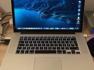 MacBook Pro 15″ mi-2015 i7 16 Go RAM 512 Go SSD