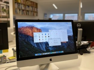 Apple iMac 27″ fin 2009 i5