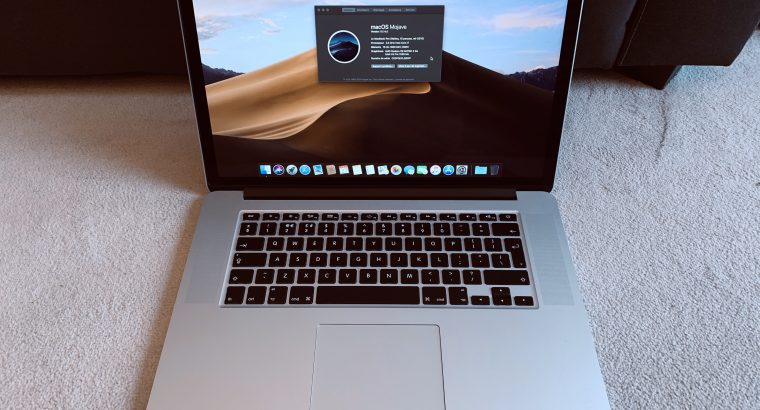 MacBook Pro Retina 15 2015 i7 – AMD Radeon M370X
