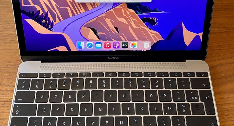 MacBook 12 pouces 256Go Retina 2015