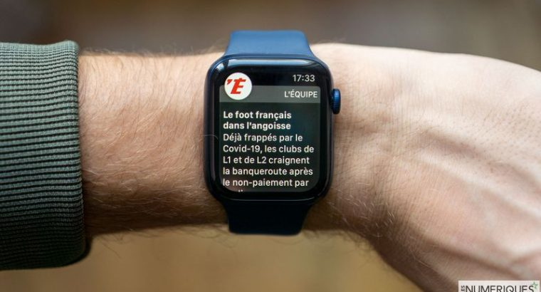Apple Watch Series 5 GPS + Cellular (NEUVE)
