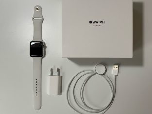 Apple Watch Series 3 Acier Cellular 4G