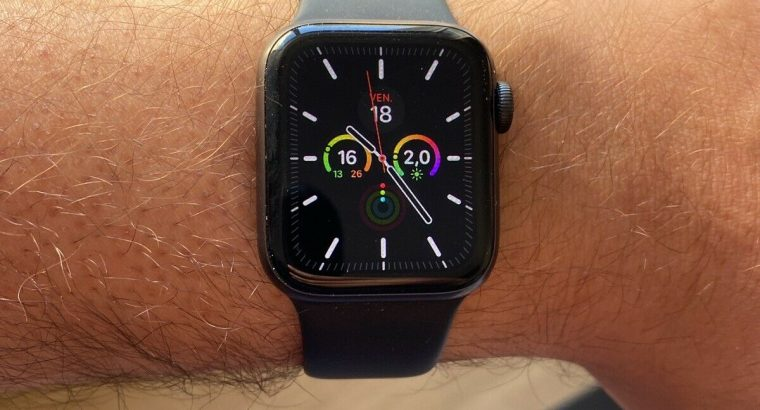 Apple Watch Series 5 40mm aluminium gris sidéral