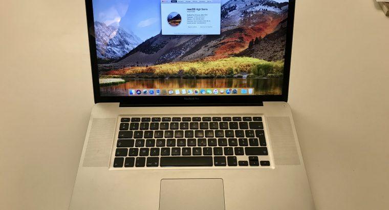 MacBook Pro 17 pouces, début 2011