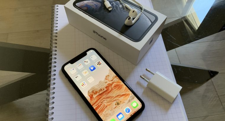 iPhone XR 256Go. Noir. Parfait état