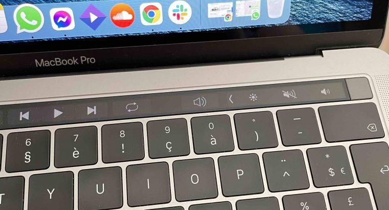 MacBook Pro 2018 TouchBar 13 pouces