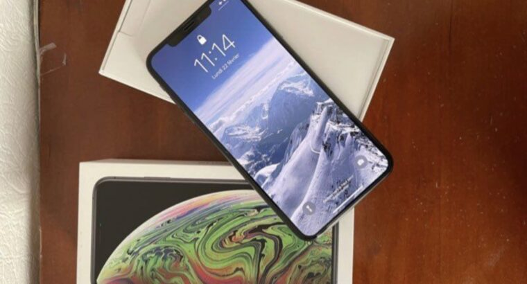 iPhone XS Max – 64Go gris sidéral
