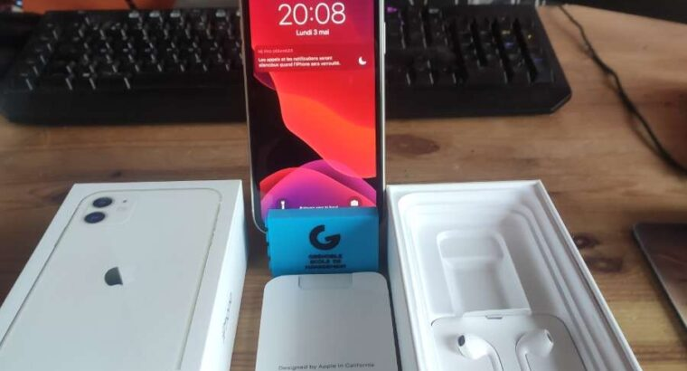 Iphone 11 64go Blanc
