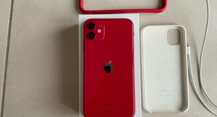 iPhone 11 rouge 256Go