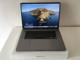MacBook Pro Touch Bar 16″ i7 2,6Ghz SSD 512Go 16Go