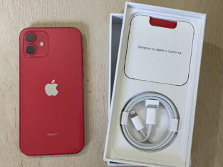 Jeune iPhone 12 Red 128 Go de 7 mois à saisir !