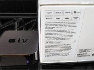Apple TV 4K HDR 32go