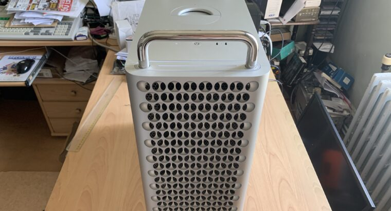 Mac Pro 7.1 2019 – 3.5GHz 8 Core – 32GB RAM – Rade