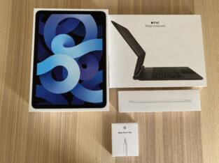 Ipad Air 4 256 GO Wifi+Cellular avec accessoires