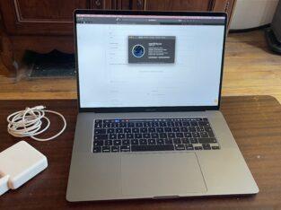 MacBook Pro 16 pouces 2019 512Go, 16Go de Ram