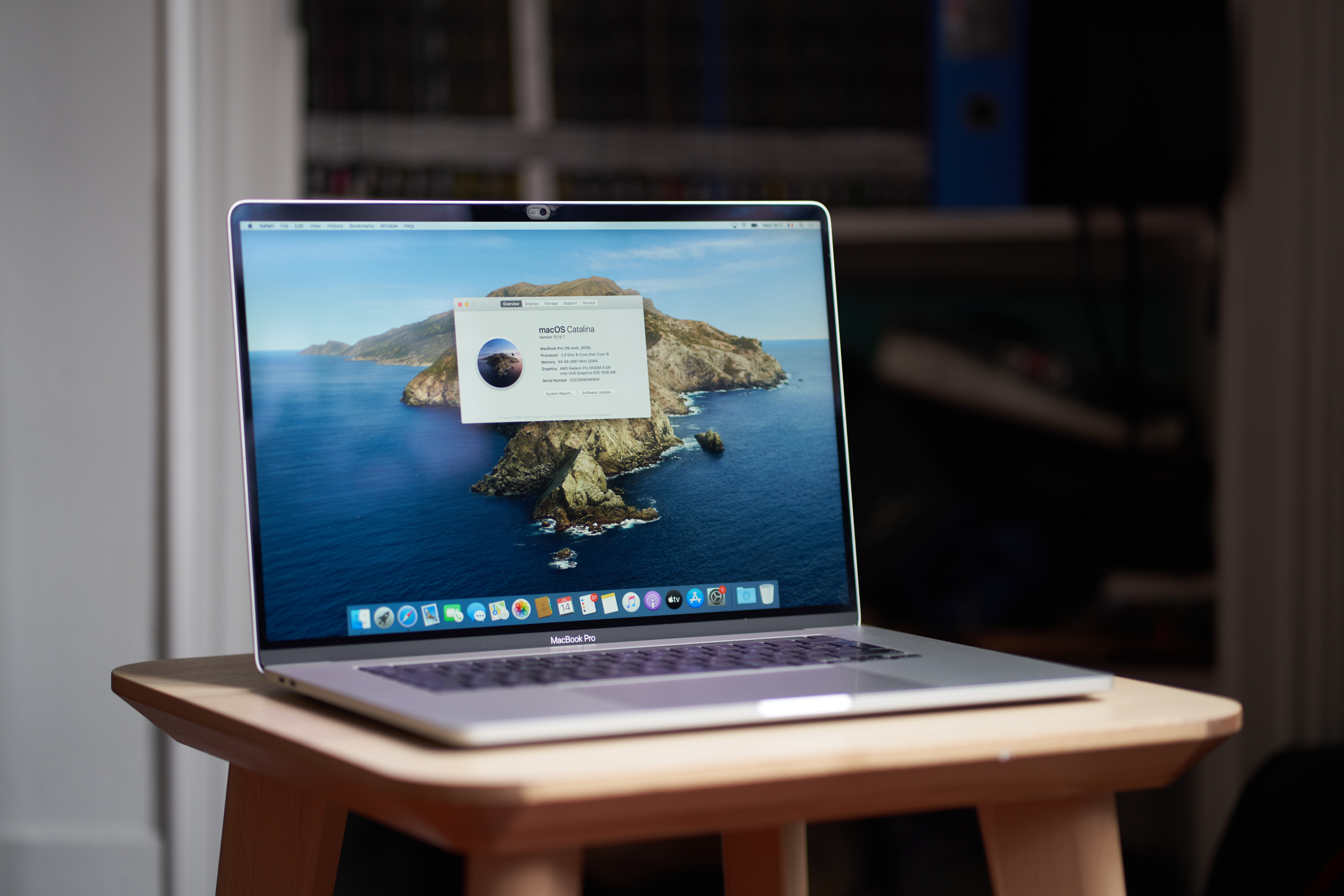 """MacBook Pro 16"""" 2 to / 64 Go RAM / 5500M — Argent"""
