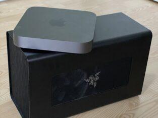Mac mini Core i7 64go + Razer core X + 5700xt