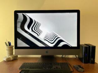 iMac Pro 27″ Xeon 10W, 64 Go Ram, 1To stockage