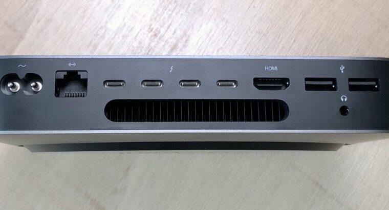 Mac mini 2019 Core i7 32Go 10Gb + eGPU Blackmagic