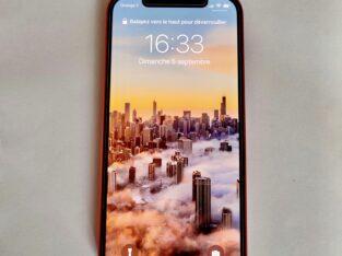 iPhone 12 Rouge comme neuf