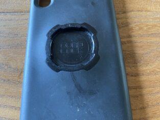 Iphone X 256go coque quad lock