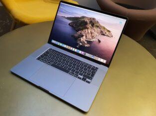 MacBook Pro 16 – i9 – 16 – 1T