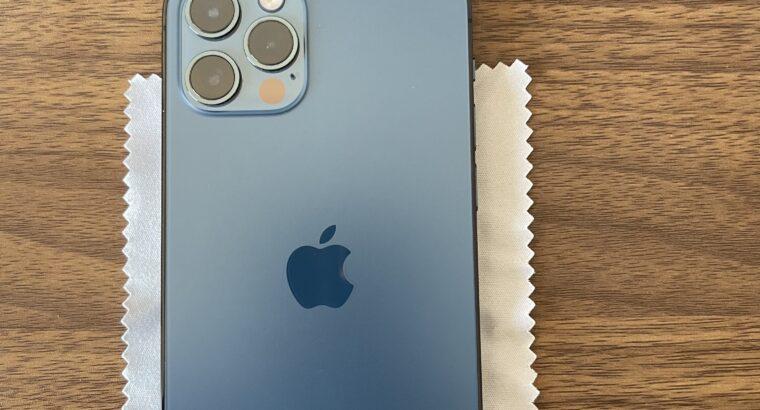 iPhone 12 Pro 256GB – Bleu Pacifique – Récent